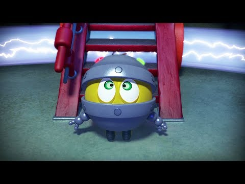 Кадр из мультфильма «Пин-код. Прыжок в будущее. День Биби. Первая серия»