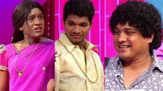 Jabardasth Avinash,Raising Raju Performance - Hittulenodu Hilarious Skit - Kiraak Comedy Show - MALLEMALATV