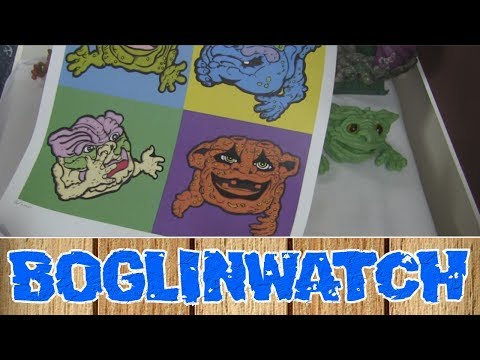 connectYoutube - Boglin Stains, Art Prints, And Squealy Electronics (Boglinwatch 2017)