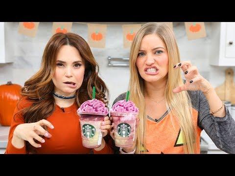 connectYoutube - Starbucks Zombie Frappuccino Taste Test!