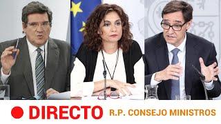 EN DIRECTO ???? Rueda de prensa tras el CONSEJO de MINISTROS, el ÚLTIMO de ILLA - 26/01/2021 | RTVE