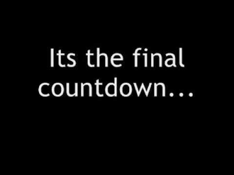 connectYoutube - europe - final countdown + lyrics