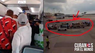 Cubanos en Miami forman caos en vuelo de Viva Aerobus con destino a Camagüey por el equipaje
