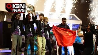 NewBee Wins The International 4 Grand Finals - IGN News