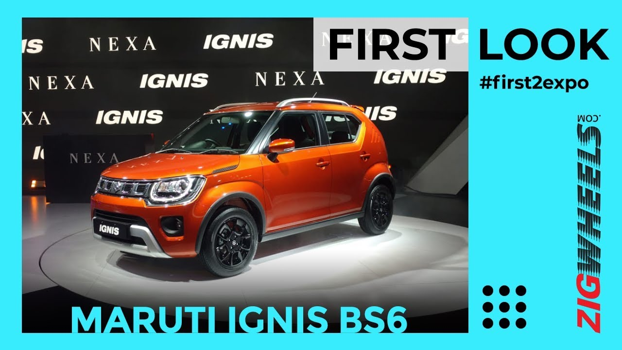 Maruti Ignis (BS6) Facelift 2020 India First Look Review Auto Expo 2020