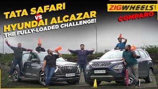Tata Safari vs Hyundai Alcazar Fully-Loaded | Not A Review!