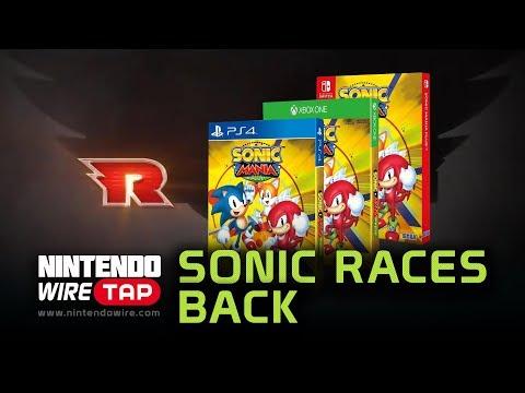 connectYoutube - Sonic Racing Returns and Sonic Mania Plus   Nintendo Wiretap