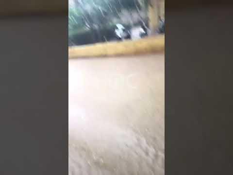 Viviendas en Brisas de Loyola Dajabón se inundan por lluvias