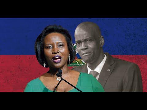 MARTINE MOISE. . ¿Presidenta de HAITÍ La razón del asesinato de JOVENEL MOISE