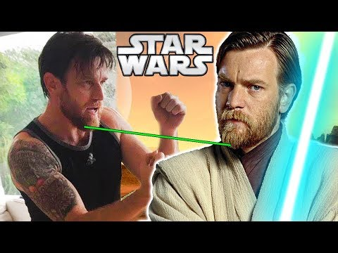 connectYoutube - Ewan McGregor's NEW Beard Teased to Return as Obi-Wan?? - Star Wars News Theory