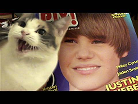 Video: Justin Bieber - net gyvūnai jo nemėgsta