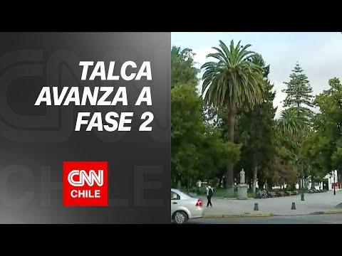 Alcalde de Talca se refiere al avance de la comuna a Fase 2 de Transición
