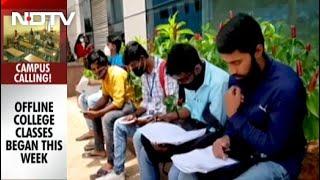 Back To College In Karnataka - NDTV