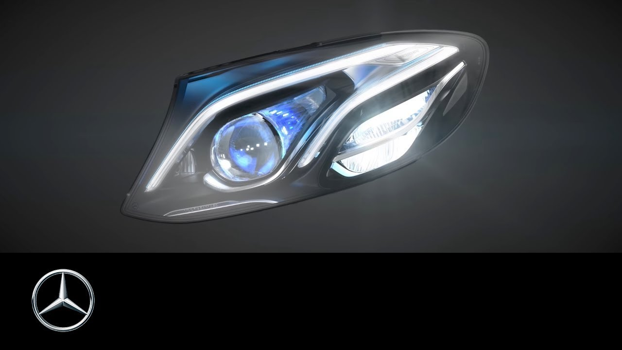 MULTIBEAM LED headlamps in the new E-Class - Mercedes-Benz original