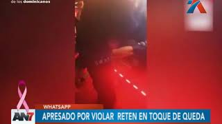 Un ciudadano fue detenido por violar el toque de queda