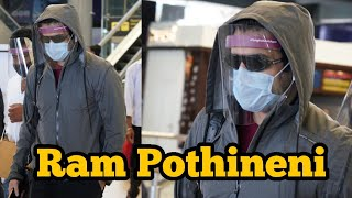 Actor Ram Pothineni Spotted At Hyd Airport | Tollywood Celebrities Airport Videos | TFPC - TFPC