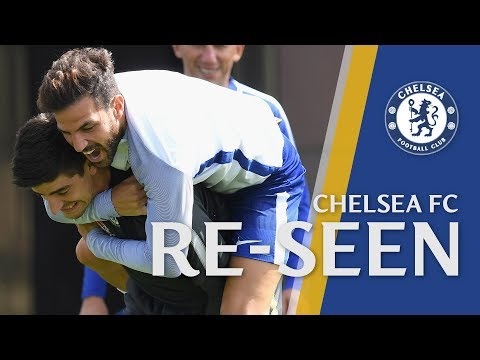 Fabregas On Why He Loves Football, Incredible Training Goals & Azpilicueta Crossbar King!