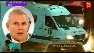 Trasladan a Luis Castañeda Lossio al Penal Castro Castro