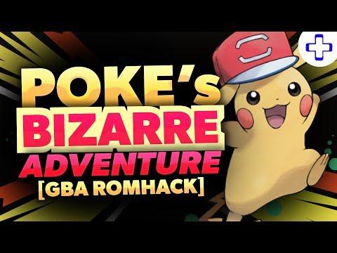 connectYoutube - NEW POKEMON GBA ROM HACK - POKE's BIZARRE ADVENTURE GBA (Gameplay/Download) 2018!