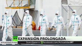 Pasajeros abandonan el crucero en cuarentena por coronavirus en Japón