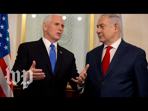 connectYoutube - Pence and Netanyahu deliver joint remarks