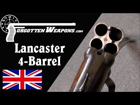 connectYoutube - Lancaster Four-Barrel Shotgun With Double-Action Trigger