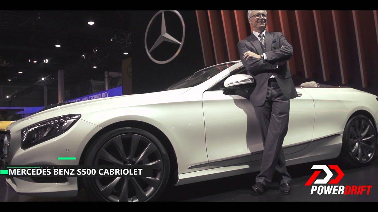 Mercedes Benz : S500 Cabriolet & GLC 300 : First Look: PowerDrift