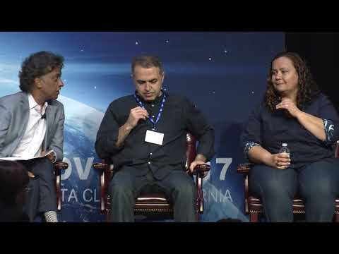 Ruhi Sarikaya and Dilek Hakkani-Tur at AI Frontiers Conference 2017 : Panel - Personal Assistants