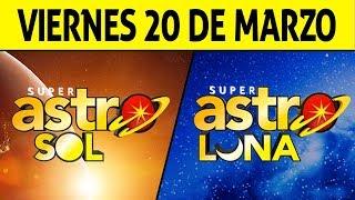 Resultado de ASTRO SOL y ASTRO LUNA del Viernes 20 de Marzo de 2020 | SUPER ASTRO ????????????