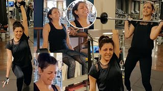 Kajal Agarwal Gym Workout Videos | Kajal Workout Video | Kajal Aggarwal Gym Workout | TFPC - TFPC