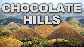 Chocolate Hills at Bohol Island, Philippines