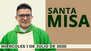 Misa de hoy miércoles 1 de Julio de 2020  ???? padre Neftalí Rogel ????santa misa del día