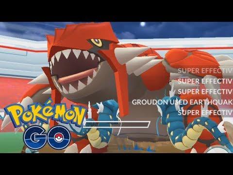 connectYoutube - WHY I'M CATCHING GROUDON 100X! - Pokémon GO Groudon Battle & Encounter Gameplay