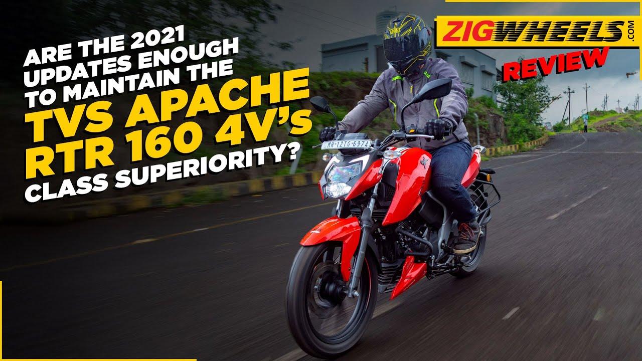 2021 TVS Apache RTR 160 4V Road Test Review | Best 160cc Commuter In India? | BikeDekho.com