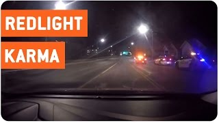 Instant Karma Red Light Runner | Speeding Car