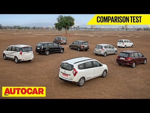 Evalia VS Lodgy VS Mobilio VS Innova VS Ertiga VS Xylo VS Aria VS Enjoy | Autocar India