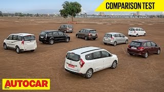 Enjoy VS Lodgy VS Mobilio VS Innova VS Ertiga VS Xylo VS Aria VS Evalia | Autocar India