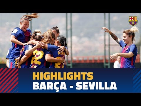 [HIGHLIGHTS] FUTBOL FEM (Liga): FC Barcelona – Sevilla (5-0)