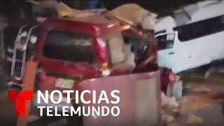 Choque múltiple deja al menos 17 muertos en Perú   Noticias Telemundo
