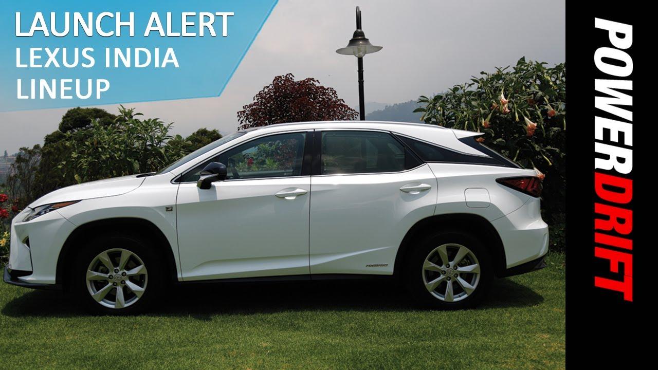 Lexus ES300H~ RX450H~ LX450D : Launch Alert : PowerDrift