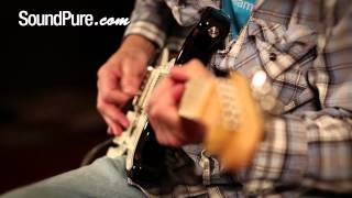 Tuttle Standard Black Electric Guitar Demo
