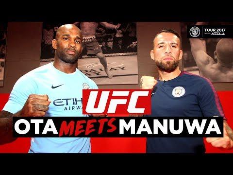JIMI MANUWA VS NICOLAS OTAMENDI | Man City Meets UFC