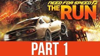Need for Speed The Run Gameplay Walkthrough Part 1 - RACING ACROSS AMERICA