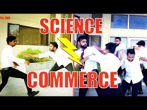 connectYoutube - Science Vs Commerce | Funny | | Hrzero8 |