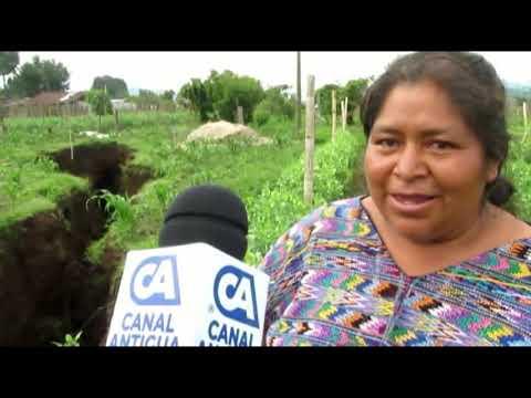 Fuertes lluvias han provocado socavamiento en Chimaltenango