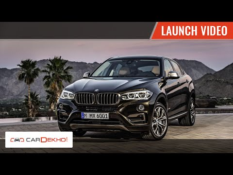 2015 BMW X6 Launch In India |  CarDekho.com
