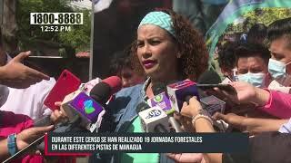 Managua realiza censo forestal en conmemoración al Día del Medio Ambiente - Nicaragua