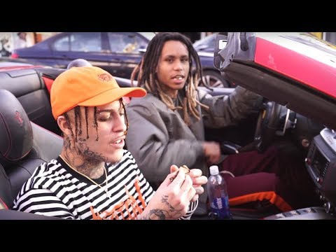 Lil Skies pulled up and caused a Car Accident