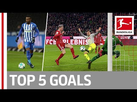 Lewandowski, Kagawa, Kalou and More  - Top 5 Goals on Matchday 16