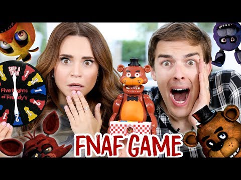 TRYING THE FIVE NIGHTS AT FREDDY'S JUMP SCARE GAME ft MatPat!